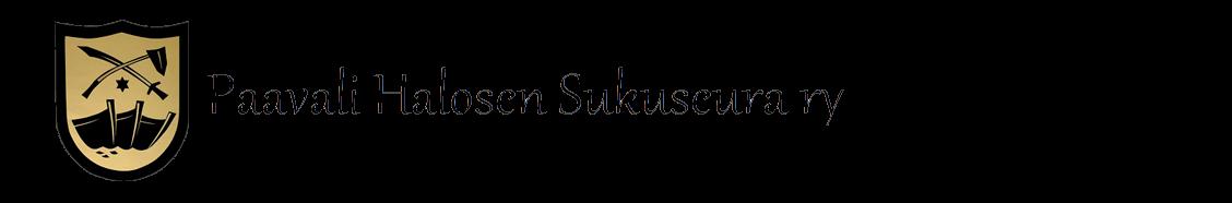 Paavali Halosen sukuseura logo